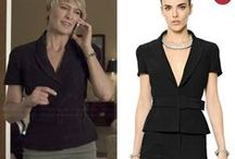 House of Cards Style & Clothes by WornOnTV / Fashion from House of Cards on Netflix