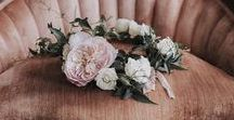 Casamento COROA DE FLORES / Lindas inspirações para as noivas que querem usar coroa de flores no casamento