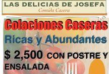 Colaciones Caseras / Comida caseras a domicilio a un precio razonable