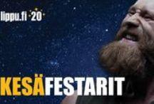 Kesän festarit / Kesän monipuolisin festivaalikattaus lippu.fi -verkkokaupasta!