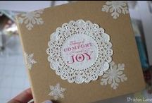 Holiday Gift Packaging / by Linda Heller - Stamping School