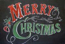 Рождество / Идеи по декору и просто праздничная атмосфера.