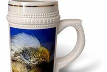 #6 Collection - Mugs / Steins / Beautiful quality Steins from my Wholesale Amazon Products created for 3DROSE.  ... ©SmudgeArt - Madeline M Allen