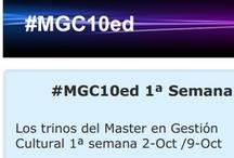 #MGC10ed & # propios / Recopilación de referencias dentro de la 10ª edición del Master y en campañas concretas del mismo.