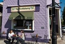 The Huckleberry / The Huckleberry serves breakfast, lunch and dinner in an atmosphere of fun, creative, comfort. At The Huckleberry, there's something for everyone!