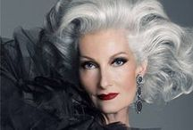 OVER 50 {AGE Defying Beauties} / Women of a certain age with that sophisticated Grace & Beauty that is eternally theirs.   Inspirations for Monica Hahn Photography.