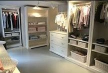 unelmien vaatehuone / Ideoita vaatteiden ja kenkien säilytykseen