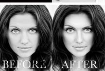 """Before & After / """"A Beautiful Make Over Photography Session let's your beauty live on forever""""....Monica Hahn Photography"""