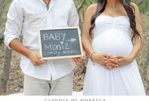 BELLIES & Bumps {The Reveal} / It's the greatest moment of your lives....Capture it with inspiring photos.  These are inspirations for my photo shoots at Monica Hahn Photography