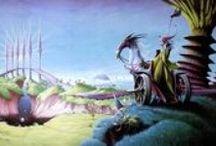 Rodney Matthews And Fantasy Art / As above!
