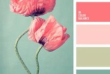 "Color Pallets / A little color harmony  ""Mauve, beige, and ultra marine, and every colour in between"""