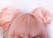 hair / Dyed hair
