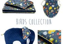 Lollifox Birds Collection / Amazing birds fabric pattern from Lollifox