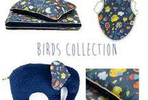 Lollifox Birds Collection / Amazing birds fabric pattern from Lollifox