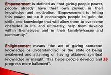 Ngatizion / Education, Empowerment & Enlightenment - By Barbara Gilbert