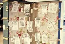 Plan de table / Seating charts / Ideas and inspiration for your wedding seating charts. More on www.placedumariage.fr