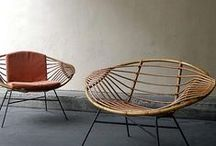 Rattan and Butterfly Chair