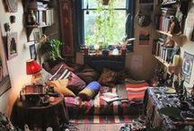 boho rooms & ideas