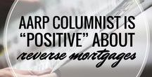 Reverse Mortgages in the News / More and more financial news outlets are recommending the reverse mortgage as a financial planning tool. Find some of the many positive articles here.