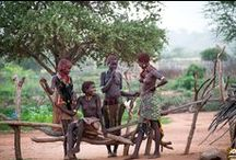 Southern Ethiopia/Hamar village