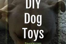 DIY Dog Toys / Fun DIY Dog Toys