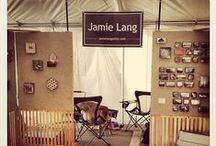 Booth Display / My designs and inspirations for creating an art fair booth.