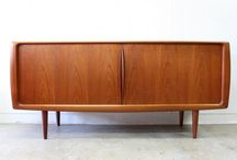 Mid Century Sideboards Auckland / Mid Century sideboards at The Vintage Shop, Auckland, New Zealand