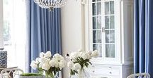 Dining Rooms / Classic American & Hamptons Interior Design, Decorating and Styling - Dining Inspiration