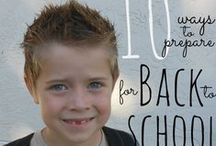 Back to School / Back to school tips and ideas  / by Lindsey Bell