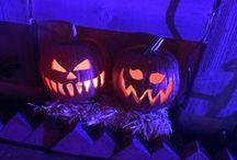 ♥Halloween Party♥ / Pumpkins, Candys, Costumes, Skeletons, Vampires, Ghost ♥ Best Night Ever ♥ / by Karen
