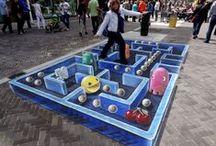 3D Street Art / De Leon Keer