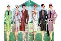 Elegance minulých století / Móda od roku 1800 až do roku 1968