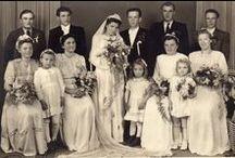 Z moji sbírky svatebních fotek ale i od jiných / Staré svatební fotografie