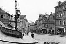 PRAHA - naše hlavní město / Praha včera a dnes