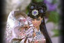 Barbi a jiné panenky - Japonky a Japonci / panenky jako Japonky a Japonci