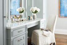 Wardrobes / Timeless American Design, Decorating & Styling Inspiration - Wardrobe, WIR, Dressing Room, Closet