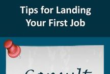 Landing Your First Job / Landing your first job after graduation is an important step in your career. These tips will help you get there. If you want more advice on your first job search visit my website www.CareerTreasure.com