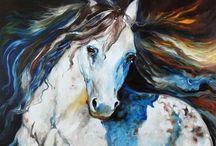 EQUINE ART / by Pamela Fugarino