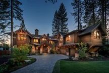 Lake Tahoe Retreat / Fabulous lakefront home in Incline Village, NV.  Construction by NSM. Architecture by Dale Cox Architects.  Interior Design by Julie Johnson-Holland.
