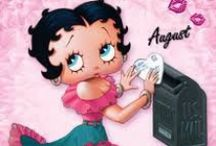 Betty Boop / kreslená oblíbená panenka