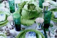 Tablescape / Entertaining, table styling, tablescape, classic, hamptons