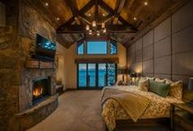 Master Suites / Beautiful and cozy Master Bedrooms, built by NSM Construction.