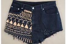 DIY shorts inspiration!!! / diy shorts :3
