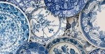 Blue & White Forever / Classic American & Hamptons Interior Design, Decorating & Styling Inspiration in Blue and White