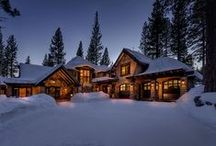 Schroder Way / Modern Mountain Home in Truckee, CA built by NSM Construction and designed by Ryan Group Architects.