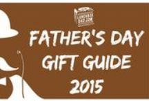 Father's Day Gift Ideas / Here are some great ideas to give to dad, or someone who is like a dad to you, for Father's Day