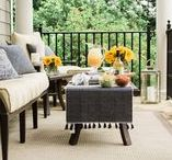 Outdoor Parties / Summer time is my favorite but I prefer casual outdoor parties instead of formal ones, though I would like to throw a beautiful garden party one day! I'm sharing ideas I found for casual outdoor parties or outdoor decor here. I'm always on the hunt to find decor that is easy to maintain and weather proof furniture and outdoor accessories!
