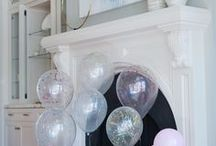 Party Decorations / Party decorations for easy to throw parties. Easy decorations and affordable ways to throw a party.