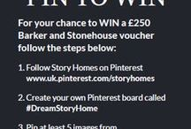 #DreamStoryHome / Is your home in need of a little New Year makeover? Our show homes are filled with plenty of inspiration for you and your home, with products from some of the nation's favourite homeware brands.  Now is the perfect time to give your home a new lease of life and, with that in mind, we're giving you the chance to WIN a £250 Barker and Stonehouse voucher.