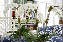 Blue & Green / Classic American & Hamptons Interior Design, Decorating and Styling - Blue & Green